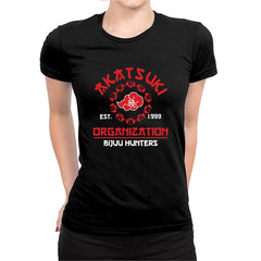 Akatsuki Organization - Women's Half Sleeve Black