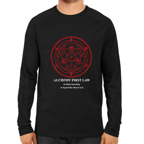 Alchemy First Law Full Sleeve Black
