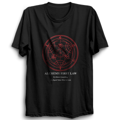 Alchemy First Law -Half Sleeve Black