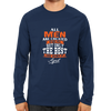Image of All men are created equal April -Full Sleeve Navy Blue