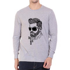 Eat Score sleep Kohli Full Sleeve Grey