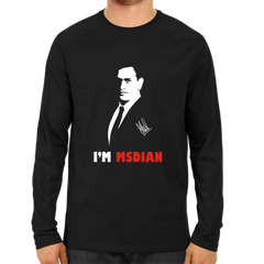 I Am MSDIAN Full Sleeve Black