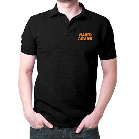 Namo-Again-Black-Polo-T-Shirt
