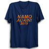 Image of Namo Again 2019 - Half Sleeve Navy Blue