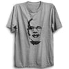 Image of Narendra Modi Face  - Half Sleeve Grey