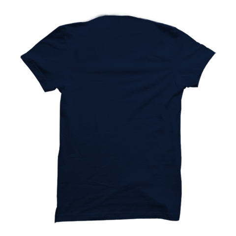 All men are created equal March -Half Sleeve Navy Blue