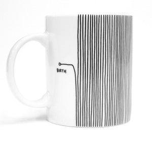 Birth Death Mug