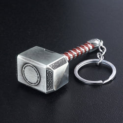 The Avengers 4 Thor Hammer Metal Keychains