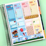 Animal Crossing Weekly ECLP Sticker Kit