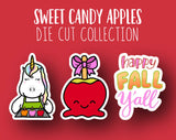 Sweet Candy Apples DIE CUT Collection