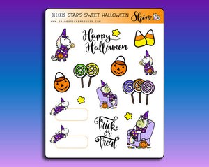 Star's Sweet Halloween Deco Stickers