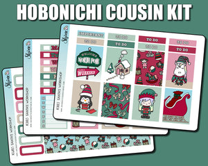 Santa's Workshop - Hobonichi Cousin Sticker Kit
