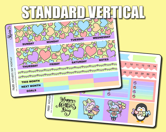 Undated Mother's Day Monthly Kit - Standard Vertical