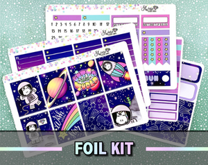 FOIL Star's Outta this World - Weekly Sticker Kit