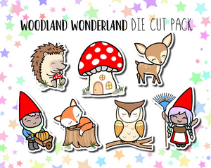 Woodland Wonderland Luna DIE CUT PACK