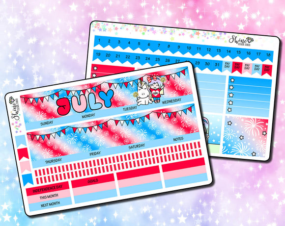July 2020 ECLP Monthly Kit - 4th of July