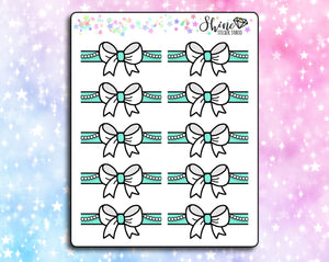 Tiffanys Bow Headers