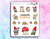 Luna Woodland Wonderland Stickers