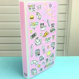 LIMIT 1 PER CUSTOMER - Luna & Star Sticker Collage Hobonichi Weeks Sticker Album