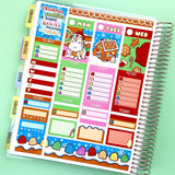 Christmas Cookies - Vertical Weekly Sticker Kit