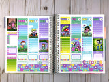 Faerie Garden Weekly ECLP Sticker Kit