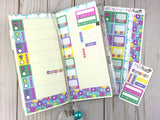 Faerie Garden - Hobonichi Weeks Sticker Kit