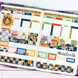 Friendsgiving Hobonichi Cousin Sticker Kit