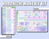 Undated Whimsical Winter Monthly Kit - Hobonichi