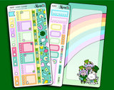 Lucky Clover Hobonichi Weeks Sticker Kit