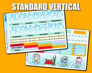 Undated Under the Sea Monthly Kit - Standard Vertical