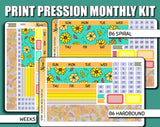 Undated Pumpkin Patch Monthly Kit - Print Pression