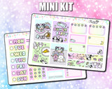 Luna & Star Slumber Party - Mini Sticker Kit Print Pression Weeks