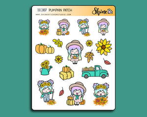 Pumpkin Patch Deco Stickers