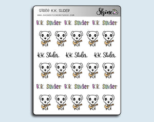 K.K. Slider Stickers