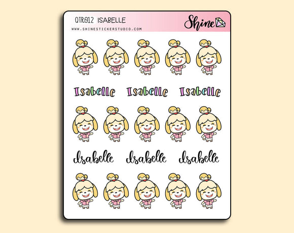 Isabelle Stickers