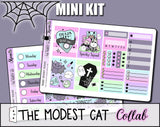 Spooky Squad - The Modest Cat Collab - Mini Sticker Kit Print Pression