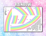 Star's Rainbow - Weekly Sticker Kit