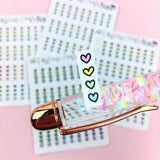 Checkboxes - Hobonichi Weeks Stickers