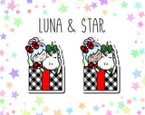 Cozy Christmas Luna & Star DIE CUTS
