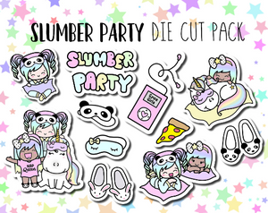Slumber Party Luna & Star DIE CUT PACK
