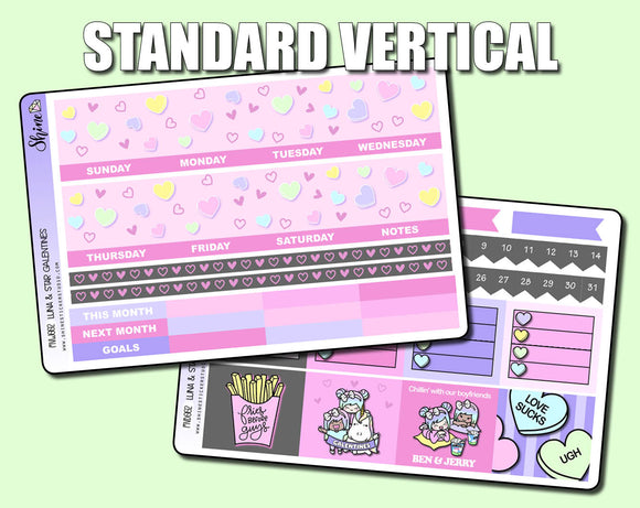 Undated Galentines Monthly Kit - Standard Vertical