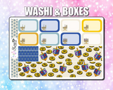 Happy Hanukkah Kit Weekly Sticker Kit