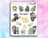 Luna Wizard Planner Stickers