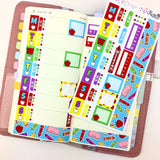 Back to School - Hobonichi Weeks Sticker Kit