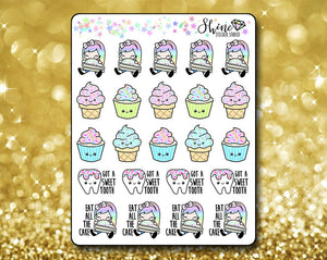 Sweet Tooth Luna Stickers