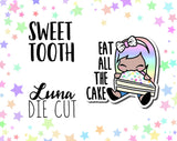 Sweet Tooth Luna DIE CUT