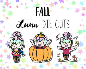 Fall Luna DIE CUTS