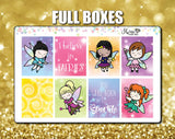 Faerie Time Weekly Sticker Kit