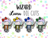 Wizard Luna DIE CUTS