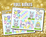 Luna Easter Weekly Sticker Kit